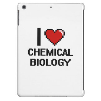 I Love Chemical Biology Digital Design iPad Air Case