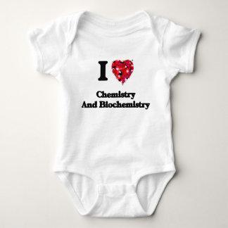 I Love Chemistry And Biochemistry T-shirts