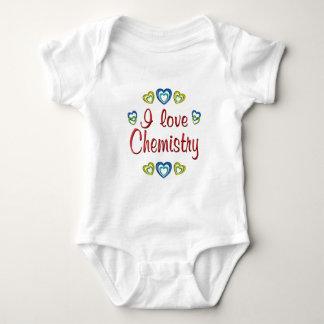 I Love Chemistry Baby Bodysuit