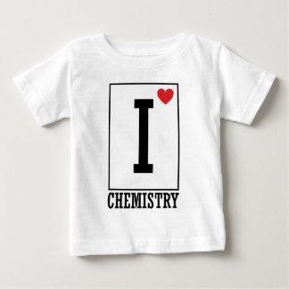 I Love Chemistry Baby T-Shirt