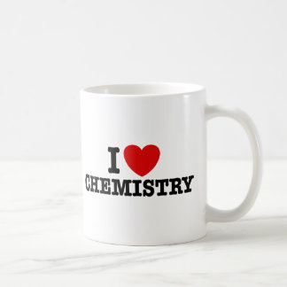 I Love Chemistry Classic White Coffee Mug