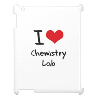 I love Chemistry Lab Case For The iPad 2 3 4