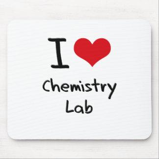 I love Chemistry Lab Mouse Pad