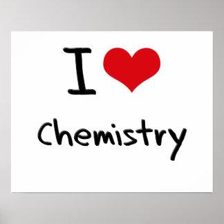 I love Chemistry Poster