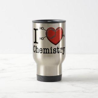 I Love Chemistry Travel Mug