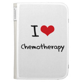 I love Chemotherapy Kindle 3 Cases