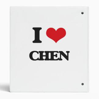 I Love Chen Binders