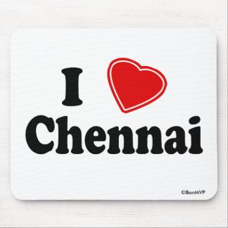 I Love Chennai Mouse Pad