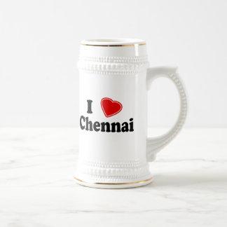 I Love Chennai Coffee Mugs