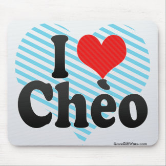 I Love Chèo Mouse Pad