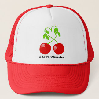 I Love Cherries Hat