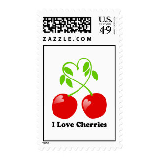 I Love Cherries Postage