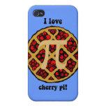I love cherry pi iPhone 4 cover