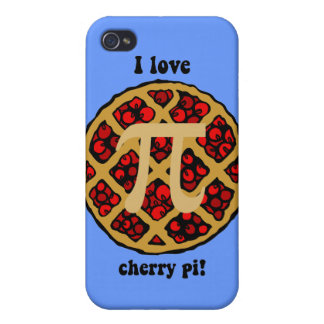 I love cherry pi iPhone 4 cover