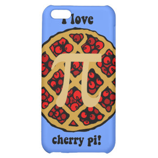 I love cherry pi iPhone 5C cover