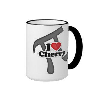 I Love Cherry Pi Pie Fun Mug