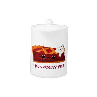 I love Cherry Pie Teapot