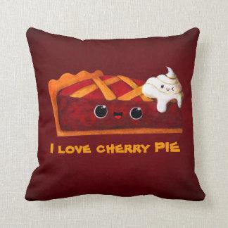 I love Cherry Pie Throw Pillow
