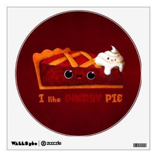 I love Cherry Pie Wall Graphic