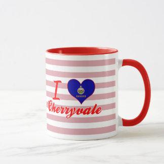 I Love Cherryvale, Kansas Mug