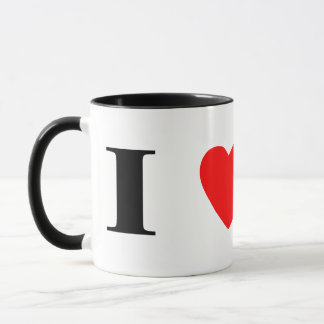 I Love Chesapeake Bay Retrievers Mug