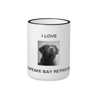 I Love Chesapeake Bay Retriver Mug