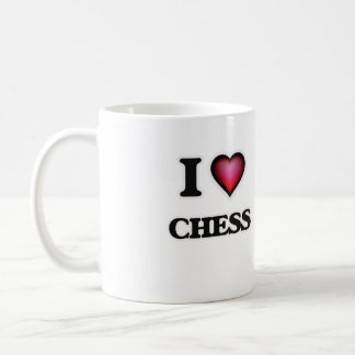 I Love Chess Coffee Mug