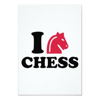 I love Chess horse Card