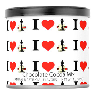 I_Love Chess Hot Chocolate Drink Mix
