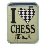 I Love Chess iPad sleeve