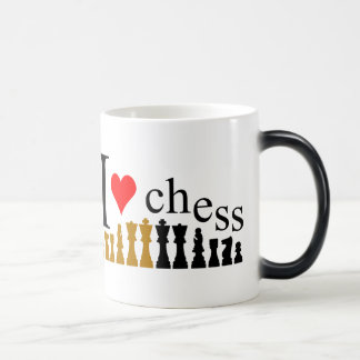 I love Chess Magic Mug