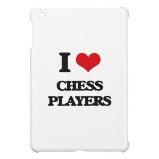 I love Chess Players iPad Mini Cases