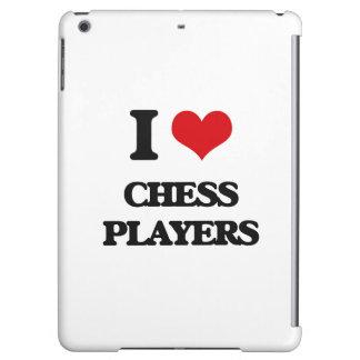 I love Chess Players iPad Air Covers