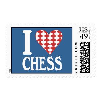 I Love Chess Postage