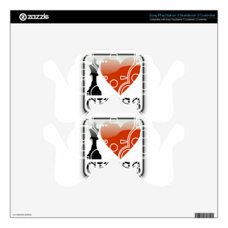 I Love Chess PS3 Controller Skins