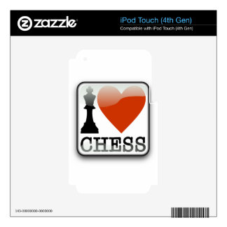 I Love Chess Skins For iPod Touch 4G