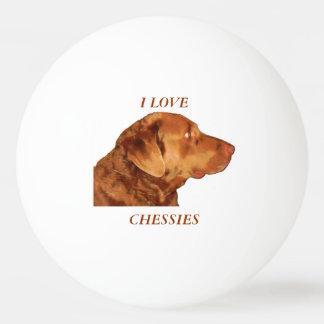 I Love Chessies Customizable Ping-Pong Ball