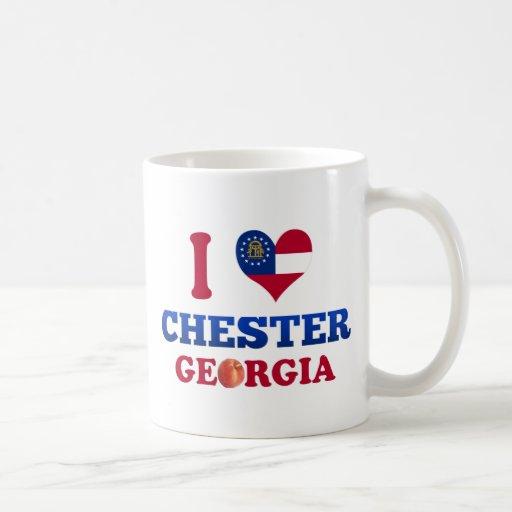 I Love Chester, Georgia Classic White Coffee Mug