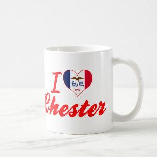 I Love Chester, Iowa Classic White Coffee Mug