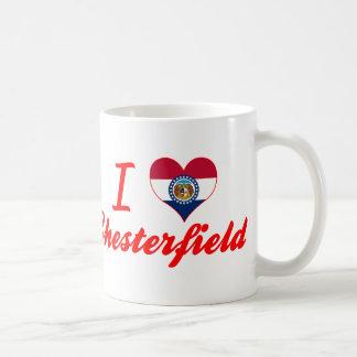 I Love Chesterfield, Missouri Coffee Mug