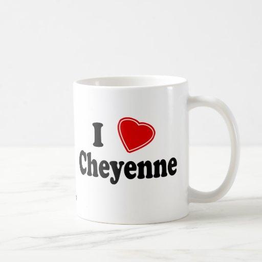 I Love Cheyenne Classic White Coffee Mug