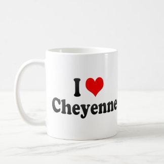 I Love Cheyenne United States Coffee Mug