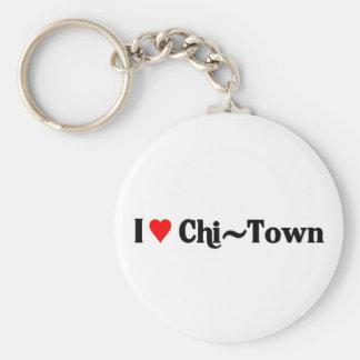I love Chi-Town Keychain