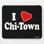 I Love Chi-Town Mousepad