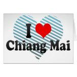 I Love Chiang Mai, Thailand Greeting Card
