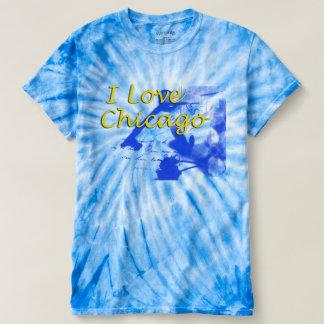 I Love Chicago Blue T-shirt