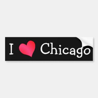 I Love Chicago Bumper Stickers