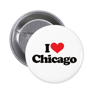 I Love Chicago 2 Inch Round Button