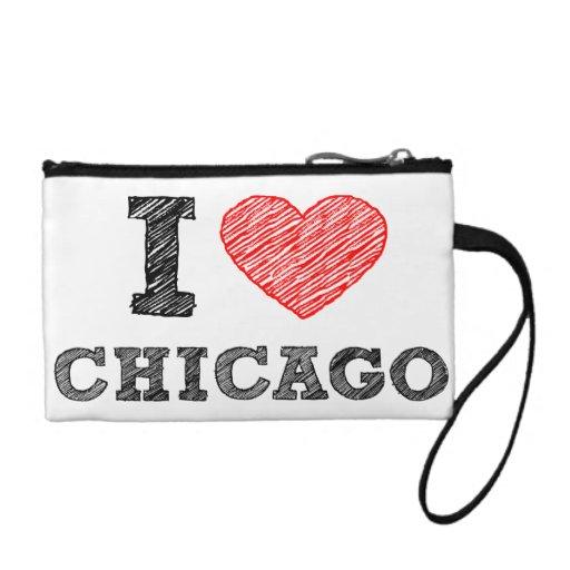 I-Love-Chicago Change Purses