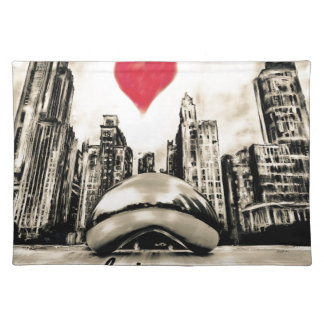 I love Chicago Cloth Placemat